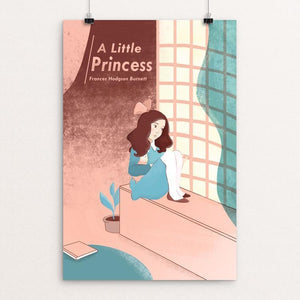 "A Little Princess by Amanda Reiter 12"" by 18"" Print / Unframed Print Recovering the Classics"