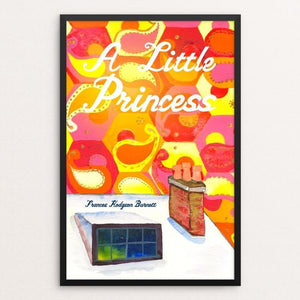 "A Little Princess by Jessica Greene 12"" by 18"" Print / Framed Print Recovering the Classics"