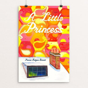 "A Little Princess by Jessica Greene 12"" by 18"" Print / Unframed Print Recovering the Classics"