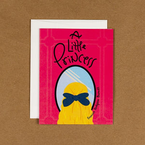 A Little Princess Notecard by Jessica Chan 4.25x5.5 inch Notecard Recovering the Classics