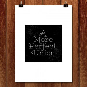 "A More Perfect Union 1 by J.D. Reeves 18"" by 24"" Print / Unframed Print A More Perfect Union"