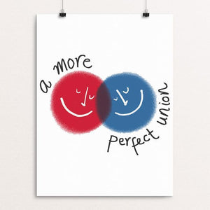"A More Perfect Union 1 by Juana Medina 18"" by 24"" Print / Unframed Print A More Perfect Union"