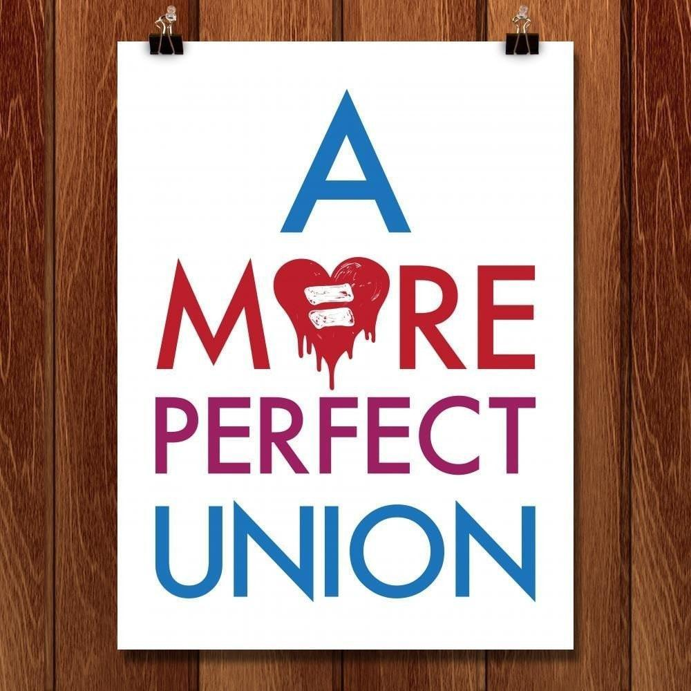 "A More Perfect Union 1 by Mark Forton 18"" by 24"" Print / Unframed Print A More Perfect Union"