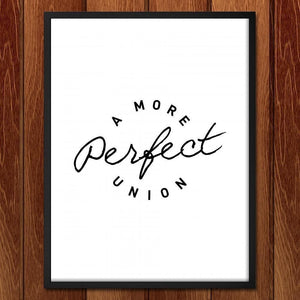 "A More Perfect Union 2 by J.D. Reeves 18"" by 24"" Print / Framed Print A More Perfect Union"