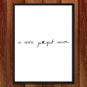 "A More Perfect Union 2 by Juana Medina 18"" by 24"" Print / Framed Print A More Perfect Union"