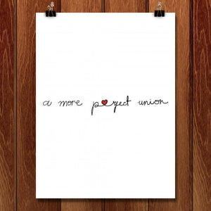 "A More Perfect Union 2 by Juana Medina 18"" by 24"" Print / Unframed Print A More Perfect Union"