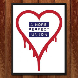 "A More Perfect Union 2 by Mark Forton 18"" by 24"" Print / Framed Print A More Perfect Union"