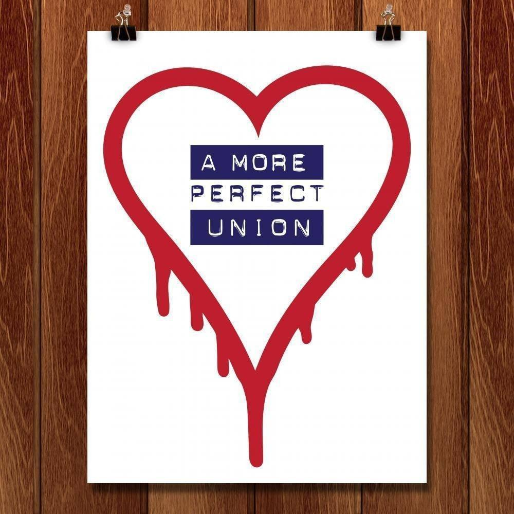 "A More Perfect Union 2 by Mark Forton 18"" by 24"" Print / Unframed Print A More Perfect Union"