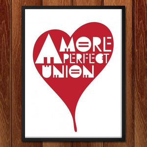 "A More Perfect Union 3 by Mark Forton 18"" by 24"" Print / Framed Print A More Perfect Union"
