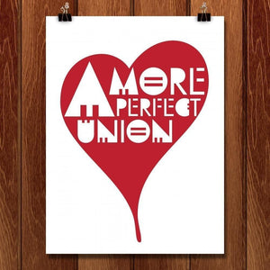 "A More Perfect Union 3 by Mark Forton 18"" by 24"" Print / Unframed Print A More Perfect Union"