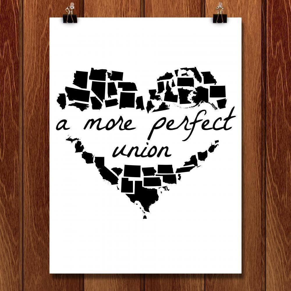 "A More Perfect Union by Lana Limón 18"" by 24"" Print / Unframed Print A More Perfect Union"