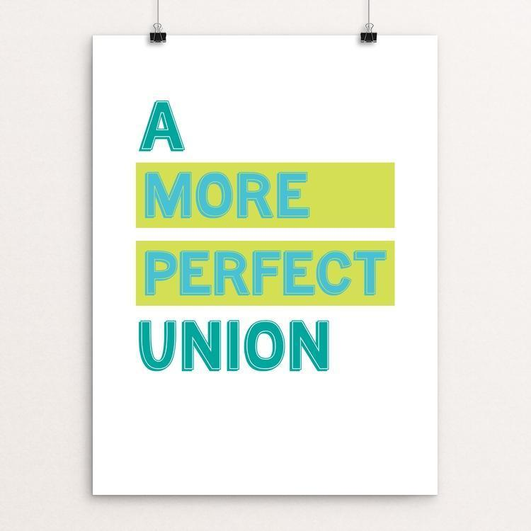 "A More Perfect Union - Equal by Elizabeth Firmage 12"" by 16"" Print / Unframed Print A More Perfect Union"