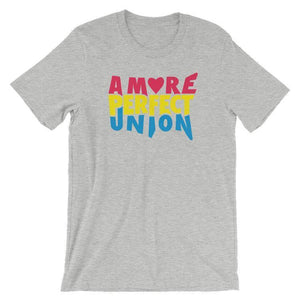 A More Perfect Union Men's T-Shirt by Design by Goats S / Heather Grey T-Shirt A More Perfect Union
