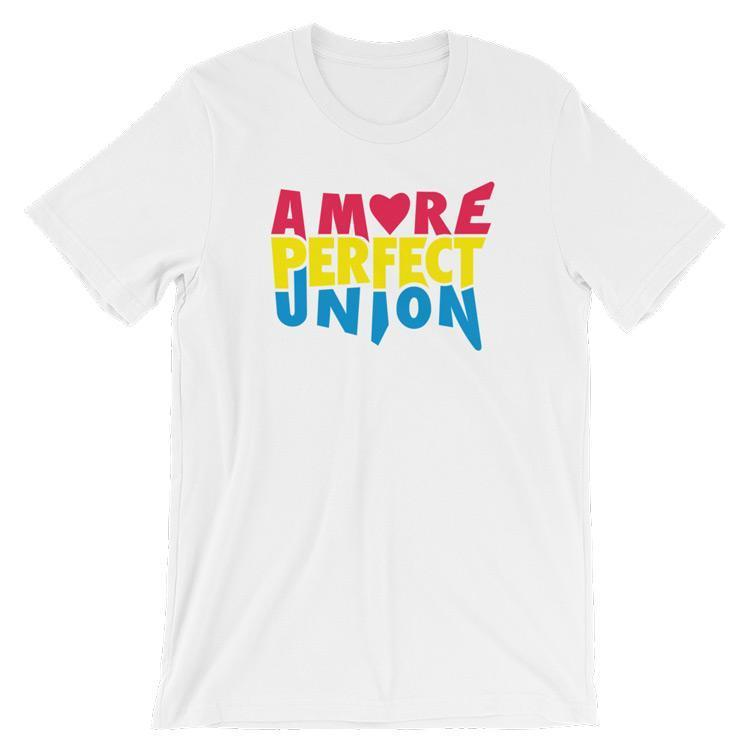 A More Perfect Union Men's T-Shirt by Design by Goats