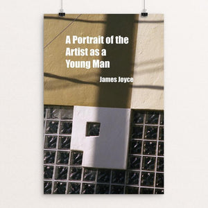 "A Portrait of the Artist as a Young Man by Ethel Jimenez 12"" by 18"" Print / Unframed Print Recovering the Classics"