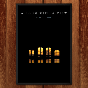 "A Room with a View by BOB RUBIN 12"" by 18"" Print / Framed Print Recovering the Classics"