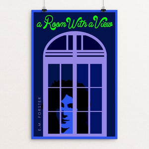 "A Room with a View by Bob Rubin 12"" by 18"" Print / Unframed Print Recovering the Classics"