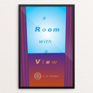 "A Room with a View by Robert Wallman 12"" by 18"" Print / Framed Print Recovering the Classics"
