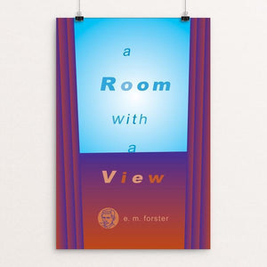 "A Room with a View by Robert Wallman 12"" by 18"" Print / Unframed Print Recovering the Classics"