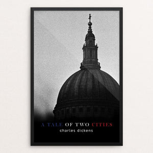 "A Tale of Two Cities by Nick Fairbank 12"" by 18"" Print / Framed Print Recovering the Classics"