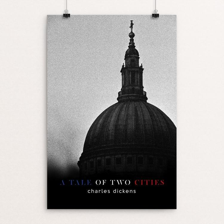 "A Tale of Two Cities by Nick Fairbank 12"" by 18"" Print / Unframed Print Recovering the Classics"