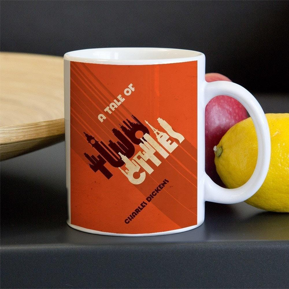A Tale of Two Cities Mug by Roberlan Borges