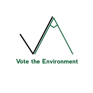 "A Vote for the Environment by Nicholas Hagar 12"" by 12"" Print / Unframed Print Vote the Environment"