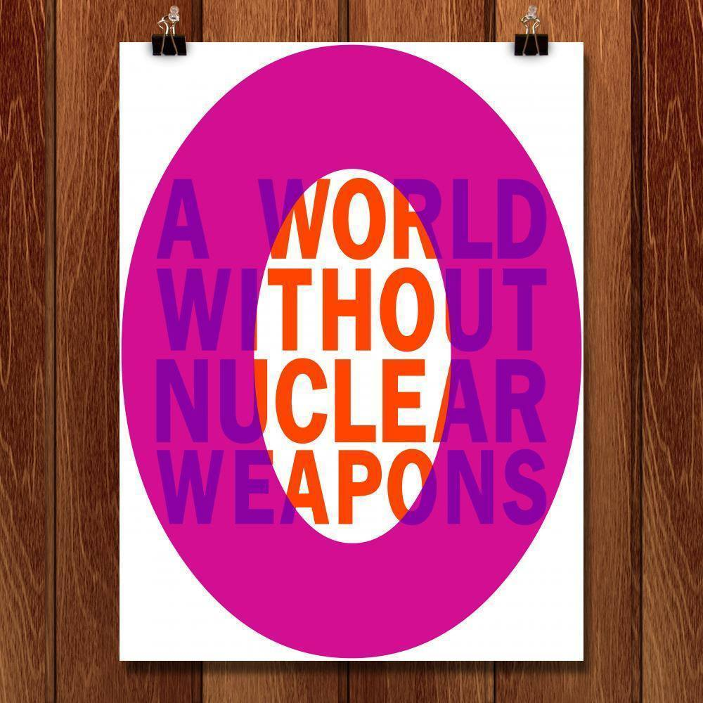 "A World Without... by Shanon Palmer 18"" by 24"" Print / Unframed Print Demand Zero"
