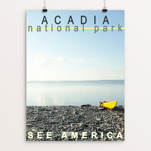 "Acadia National Park by Amanda Pulawski 12"" by 16"" Print / Unframed Print See America"