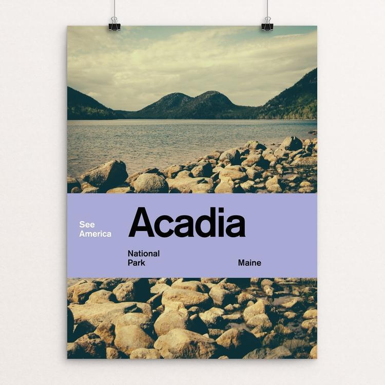 "Acadia National Park by Brandon Kish 12"" by 16"" Print / Unframed Print See America"