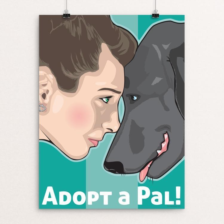 "Adopt a Pal by Don Henderson 12"" by 16"" Print / Unframed Print Creative Action Network"