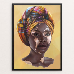 "Africa by Alexandra Secrieru 12"" by 16"" Print / Framed Print Creative Action Network"