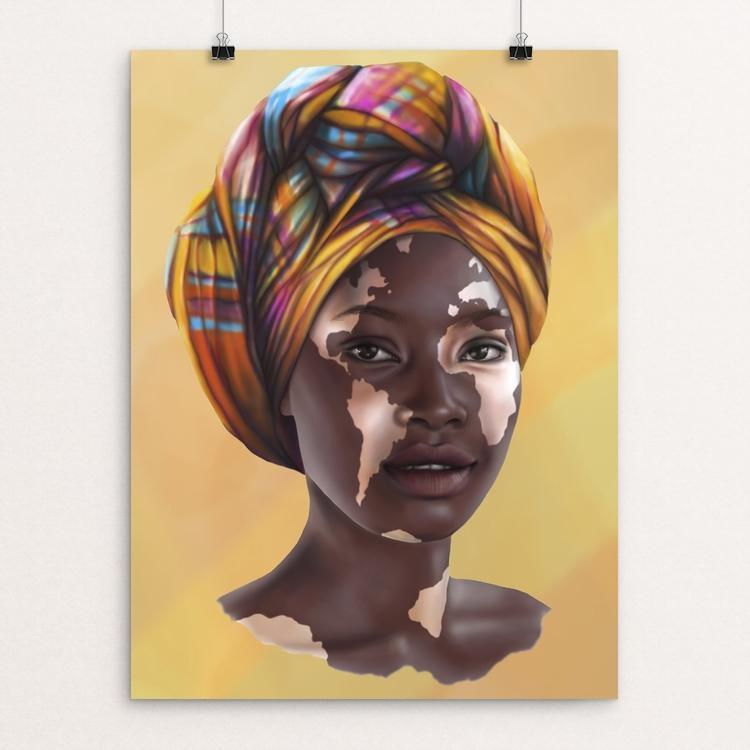 "Africa by Alexandra Secrieru 12"" by 16"" Print / Unframed Print Creative Action Network"