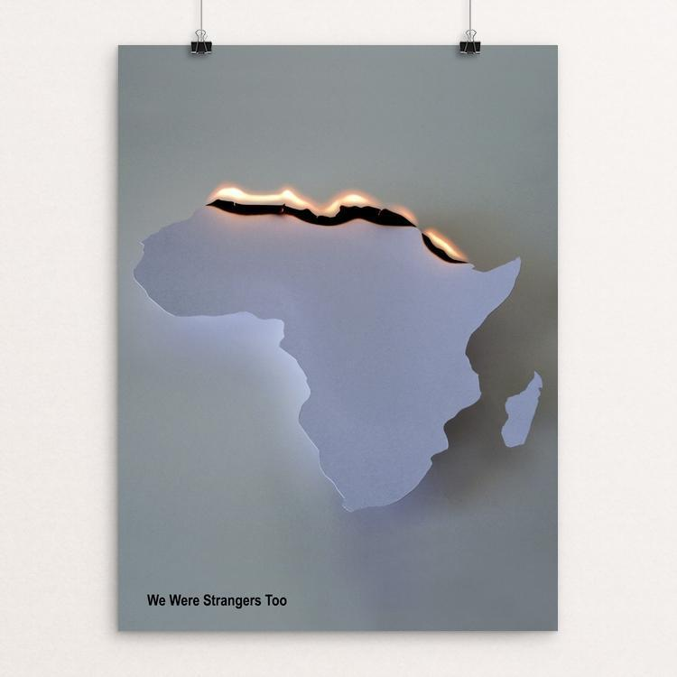 "Africa by Tomaso Marcolla 12"" by 16"" Print / Unframed Print We Were Strangers Too"