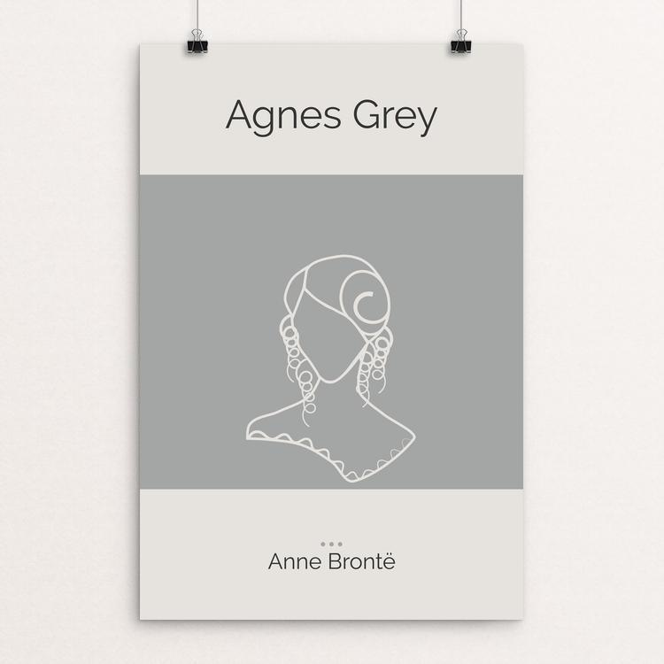 "Agnes Grey by Meredith Watson 12"" by 18"" Print / Unframed Print Recovering the Classics"