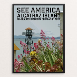 "Alcatraz Island, Golden Gate National Recreation Area by Daniel Gross 12"" by 16"" Print / Framed Print See America"