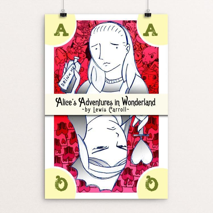 "Alice's Adventure by Christopher Williams 12"" by 18"" Print / Unframed Print Recovering the Classics"