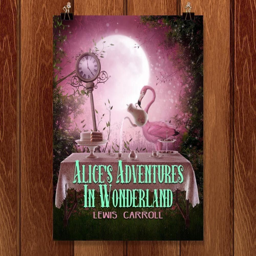 "Alice's Adventure in Wonderland by C A Speakman 12"" by 18"" Print / Unframed Print Recovering the Classics"