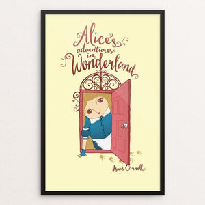 "Alice's Adventure In Wonderland by Roberto Lanznaster 12"" by 18"" Print / Framed Print Recovering the Classics"