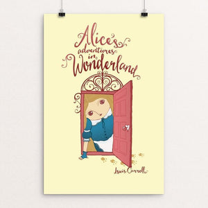 "Alice's Adventure In Wonderland by Roberto Lanznaster 12"" by 18"" Print / Unframed Print Recovering the Classics"