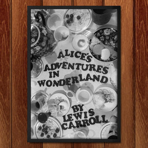 "Alice's Adventures in Wonderland by Coral Nafziger 12"" by 18"" Print / Framed Print Recovering the Classics"