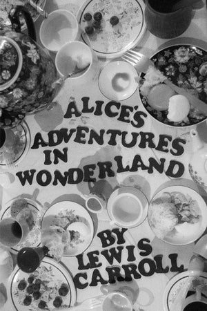 "Alice's Adventures in Wonderland by Coral Nafziger 12"" by 18"" Print / Unframed Print Recovering the Classics"