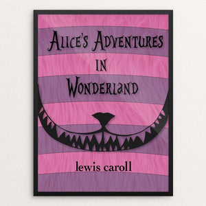 "Alice's Adventures in Wonderland by Markayla Romohr 18"" by 24"" Print / Framed Print Recovering the Classics"