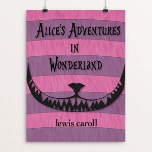 "Alice's Adventures in Wonderland by Markayla Romohr 18"" by 24"" Print / Unframed Print Recovering the Classics"