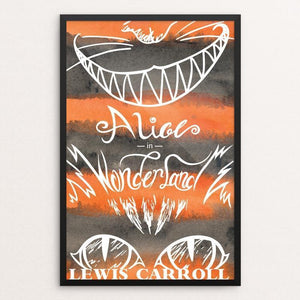 "Alice's Adventures in Wonderland by Mikaela Paris 12"" by 18"" Print / Framed Print Recovering the Classics"
