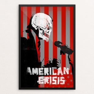"American (Cr)Isis by James Nesbitt 12"" by 18"" Print / Framed Print Power to the Poster"