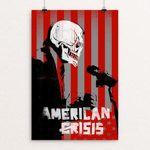 "American (Cr)Isis by James Nesbitt 12"" by 18"" Print / Unframed Print Power to the Poster"