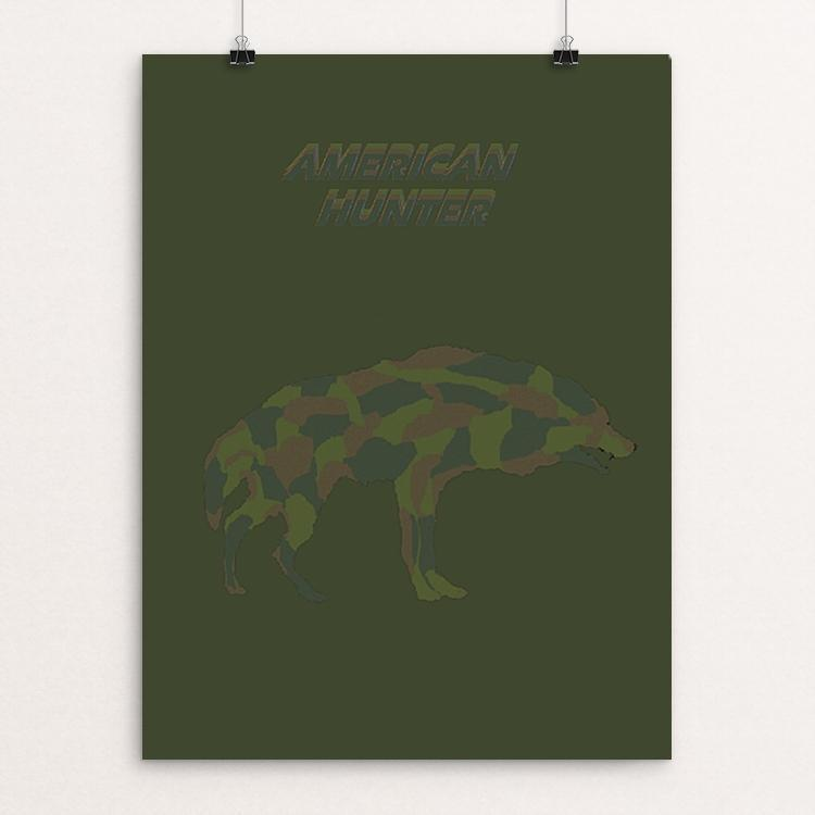 "American Hunter by Bryan Bromstrup 18"" by 24"" Print / Unframed Print Join the Pack"