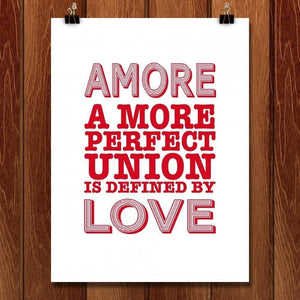 "Amore by C A Speakman 18"" by 24"" Print / Unframed Print A More Perfect Union"