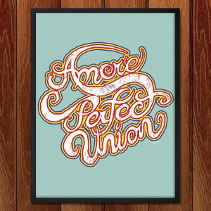 "Amore Perfect Union by Shane Hendserson 18"" by 24"" Print / Framed Print A More Perfect Union"